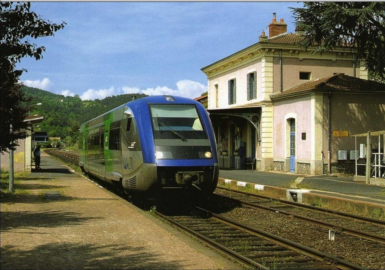 La gare de Retournac