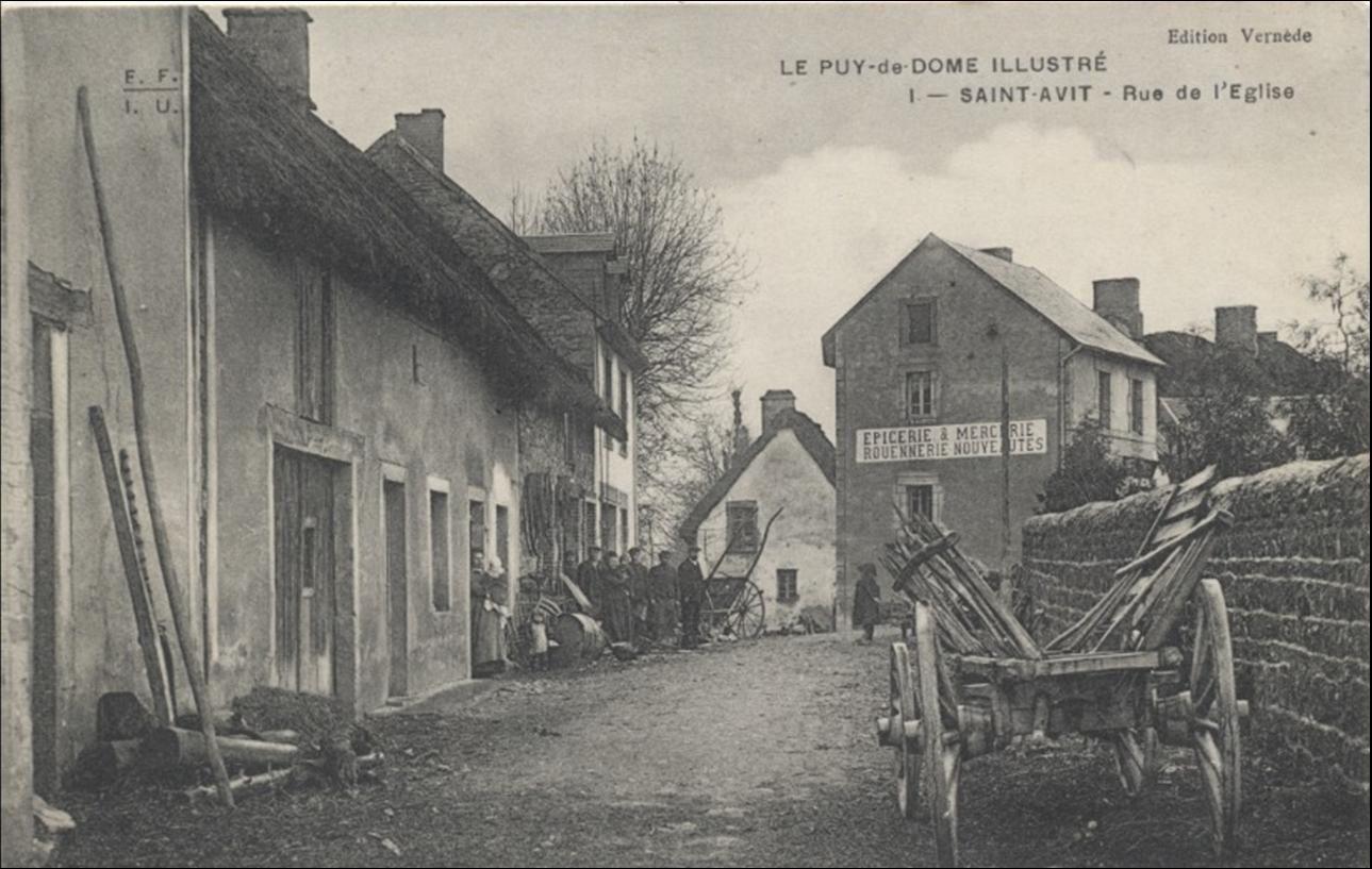 Il était une fois Saint Avit dans le Puy de Dome