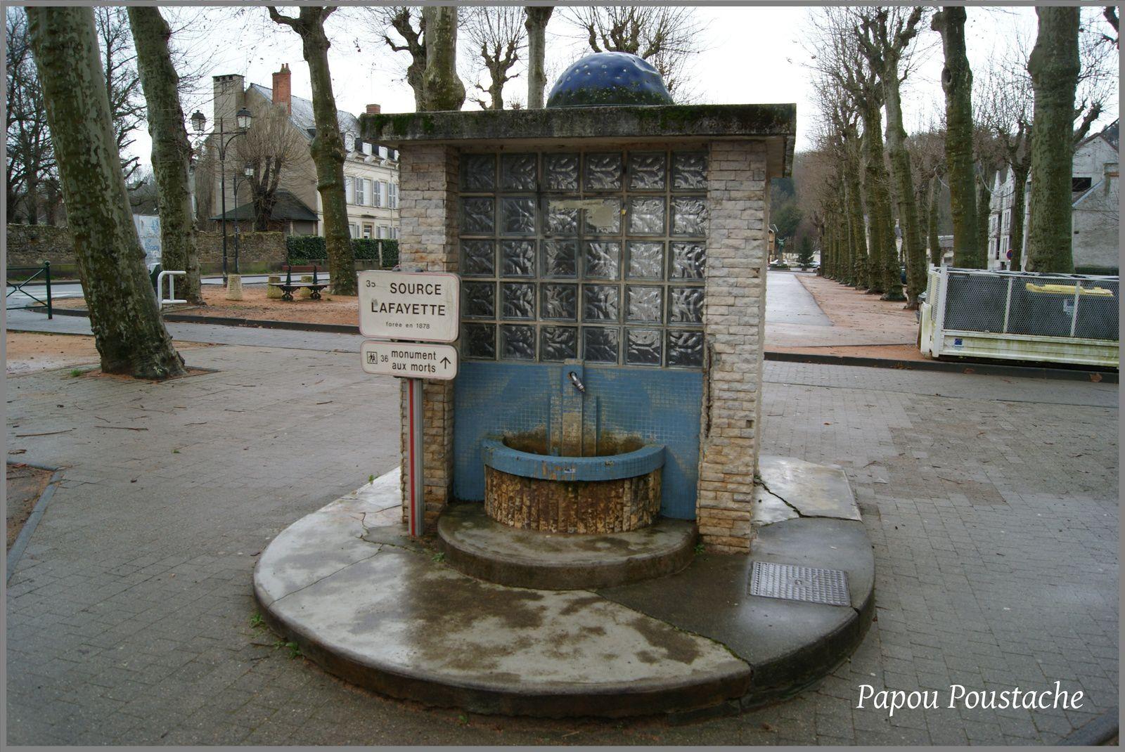 Source Lafayette à Cusset