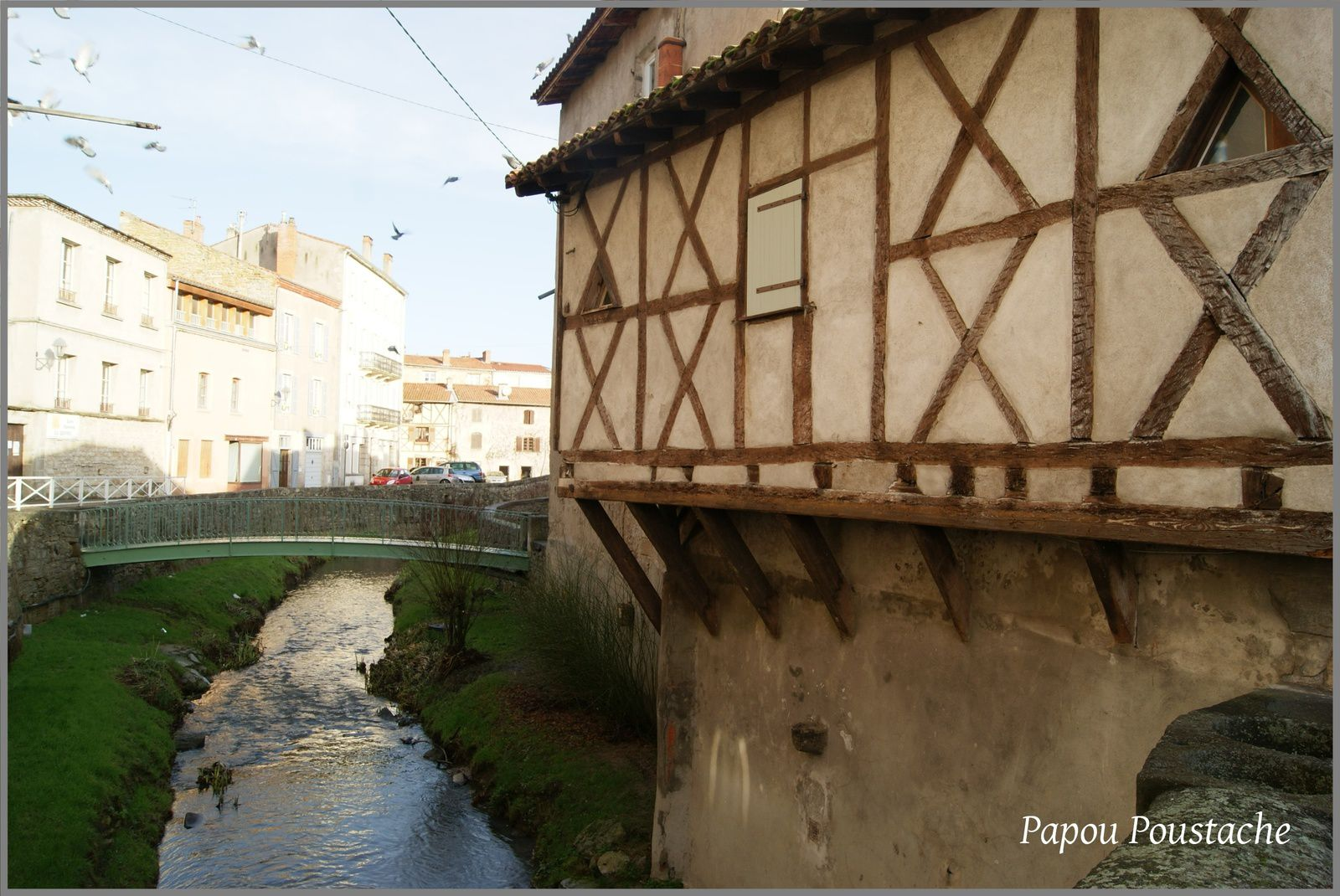 Le long du ruisseau L'Angaud à Billom