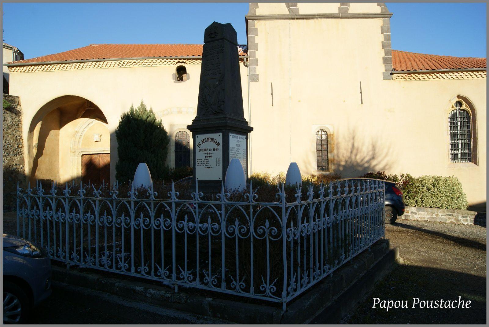 Monument et église au Broc