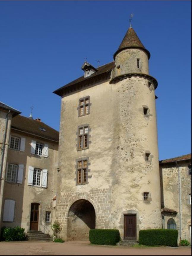 Le Chateau de Ferrières sur Sichon