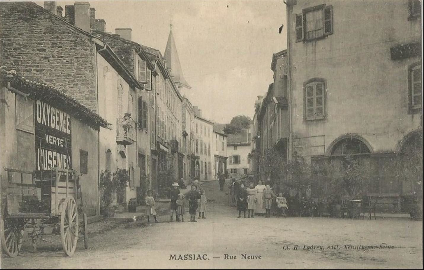 Les rues de Massiac