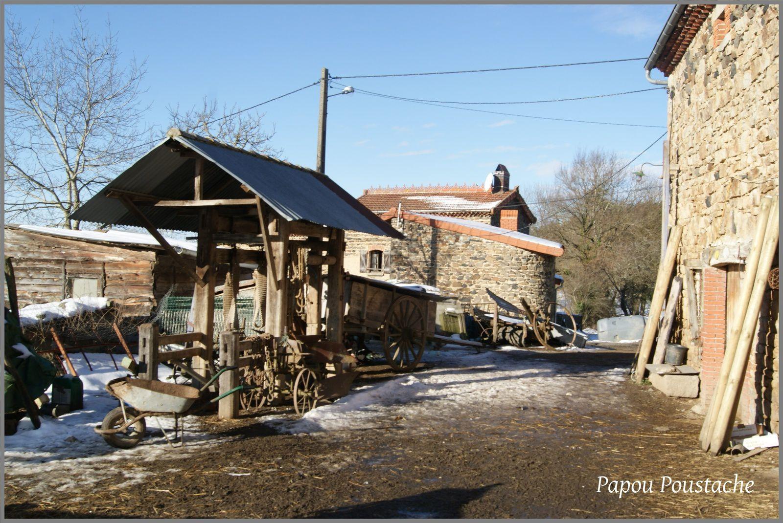Une ferme comme il en reste peu en Auvergne