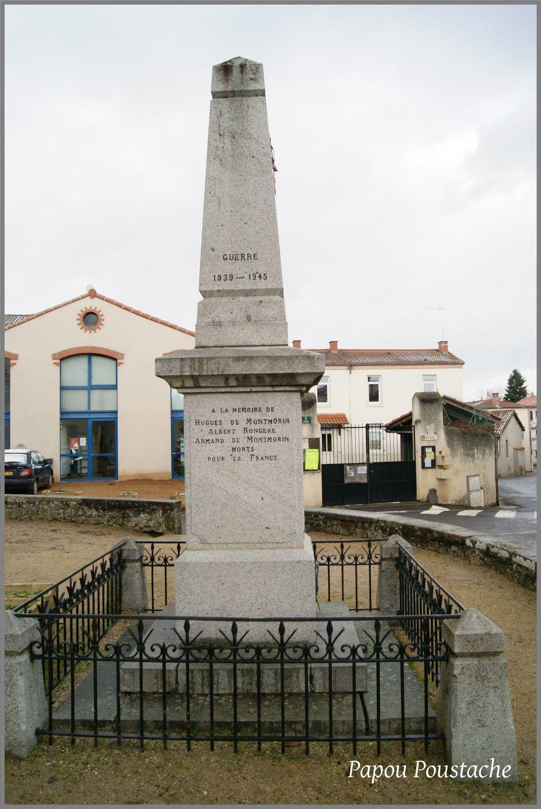L'église et monument à Brenat