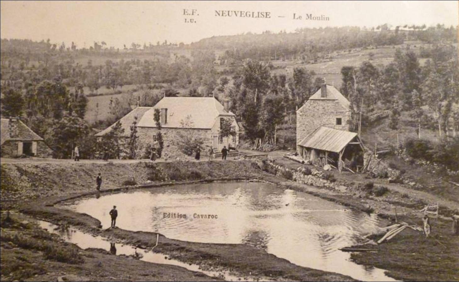Il était une fois le village de Neuvéglise dans le Cantal