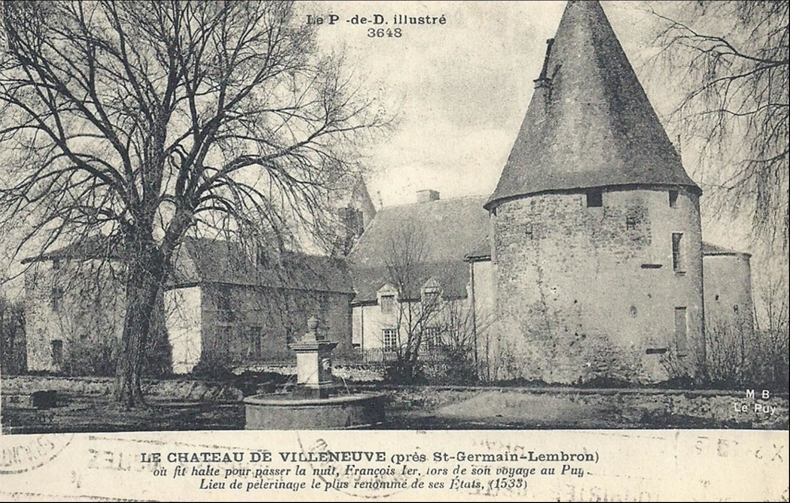 Le Chateau de Villeneuve Lembron