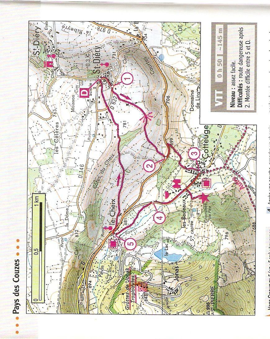 Randonnée à Saint Diery Puy de Dôme
