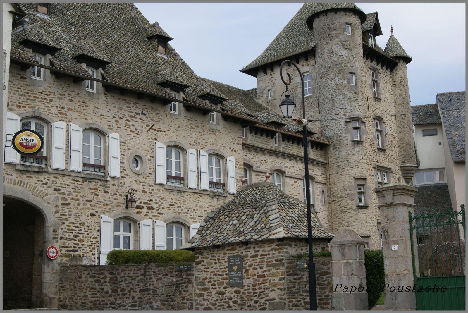 Le chateau de Montsalvy