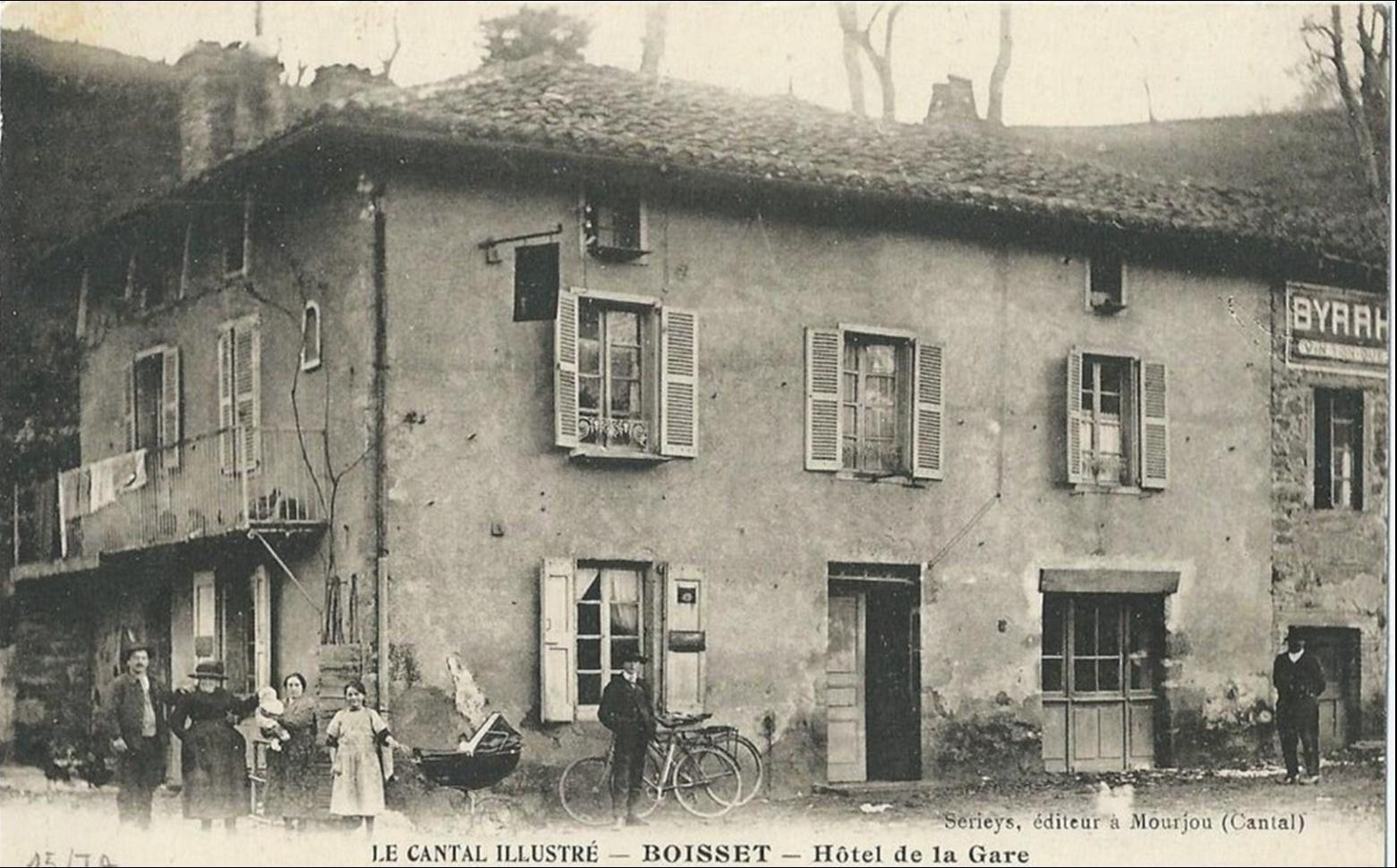 Quartier de la gare de Boisset Cantal