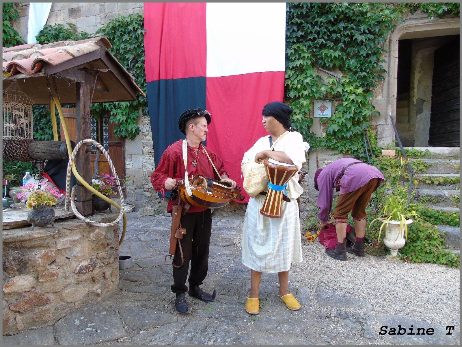 Fête médiévale Auzon Album à  Sabine