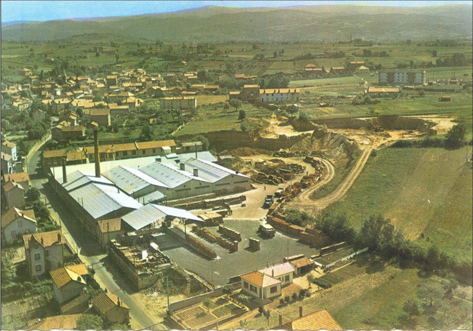 Vergongheon aux années 1950-60