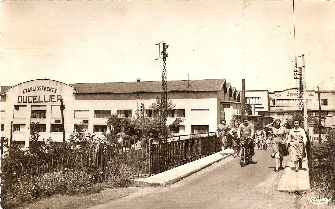 Brassac dans les années 1950-60