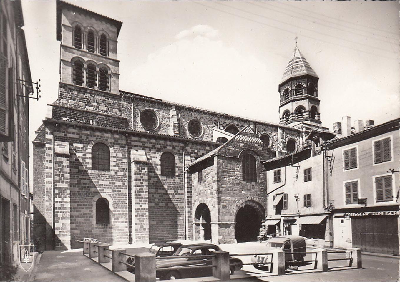 Brioude aux années 1950-60