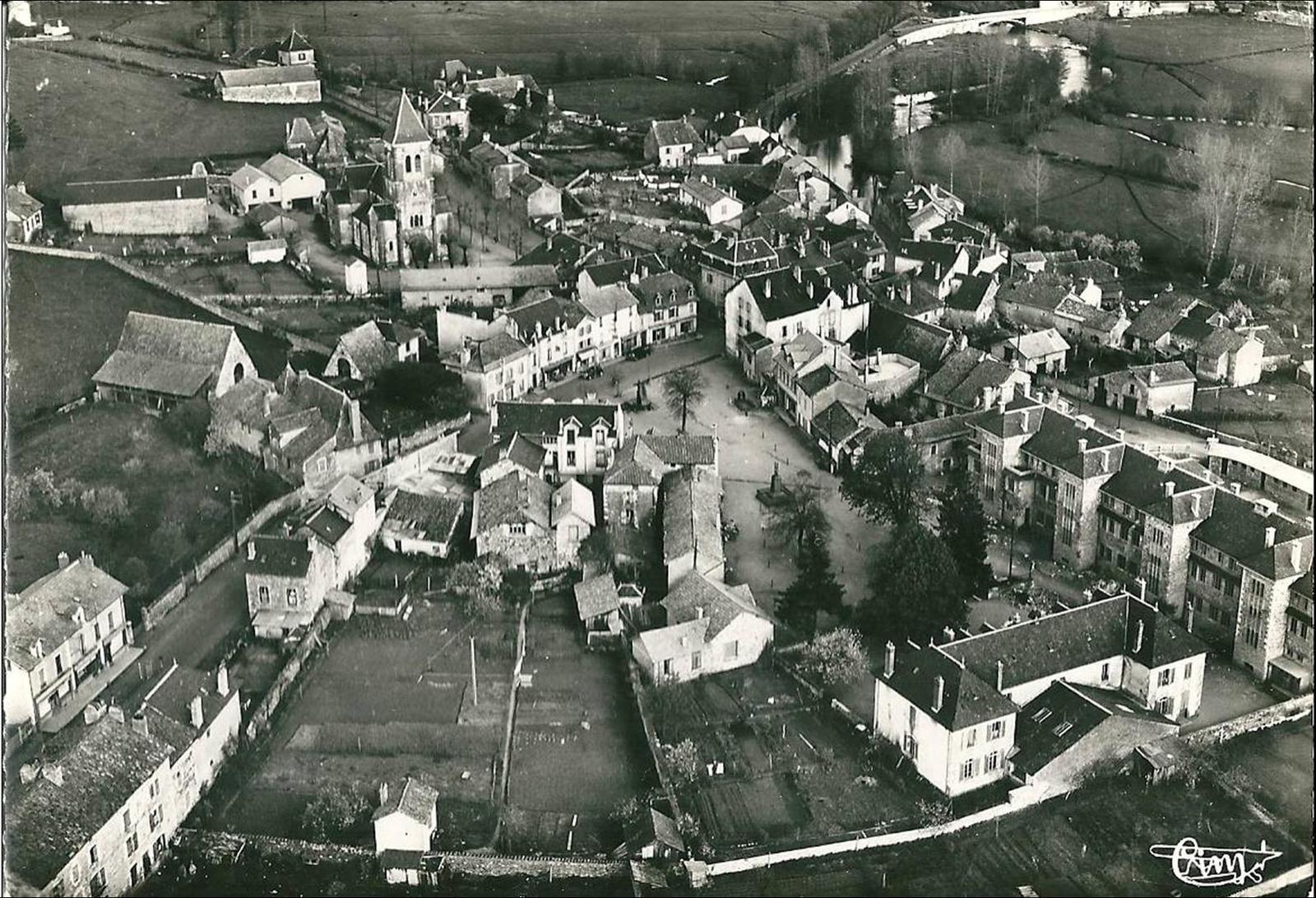 Arpajon sur Cère dans les années 1950-60