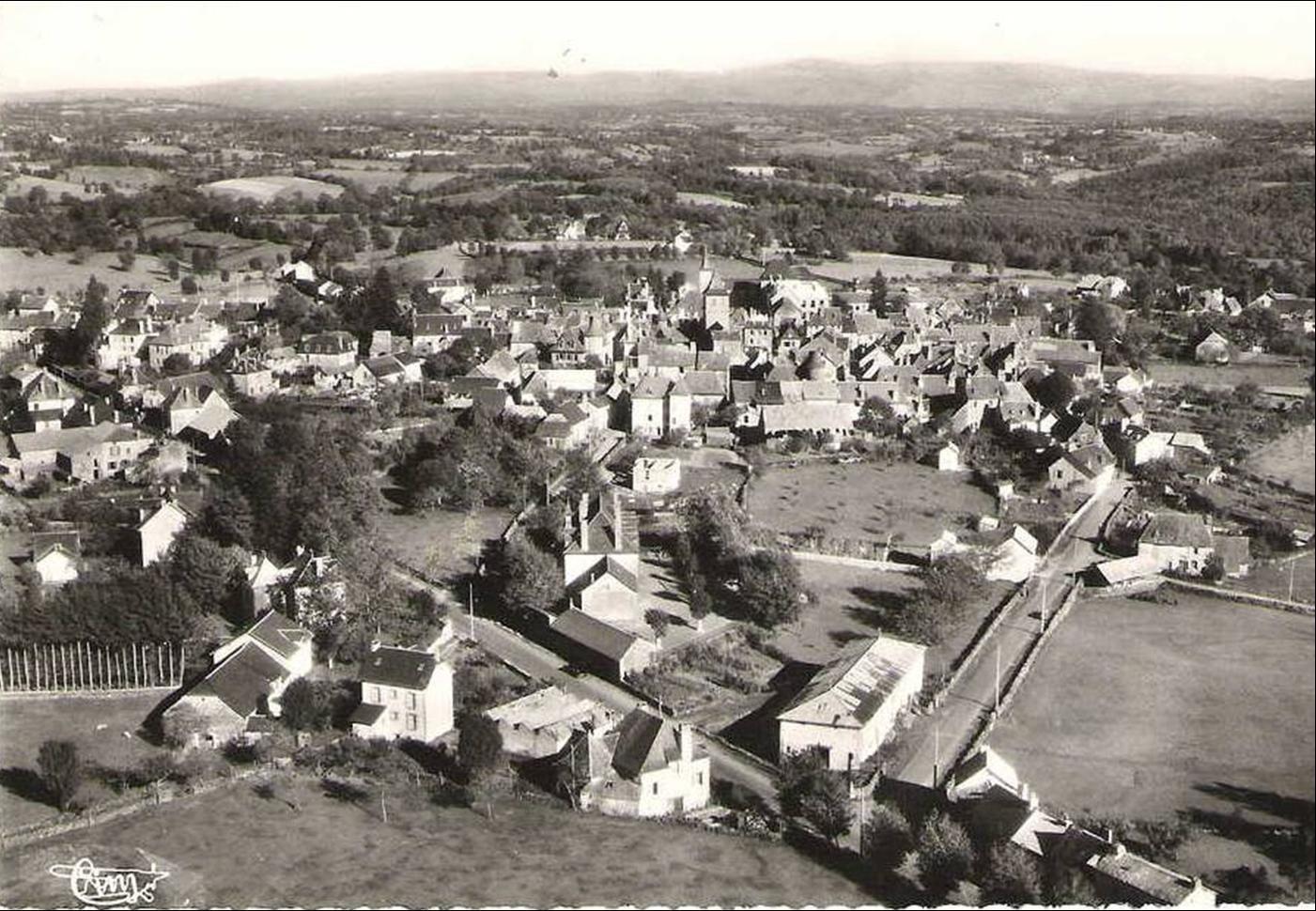 Pleaux dans les Années 1950-60-70