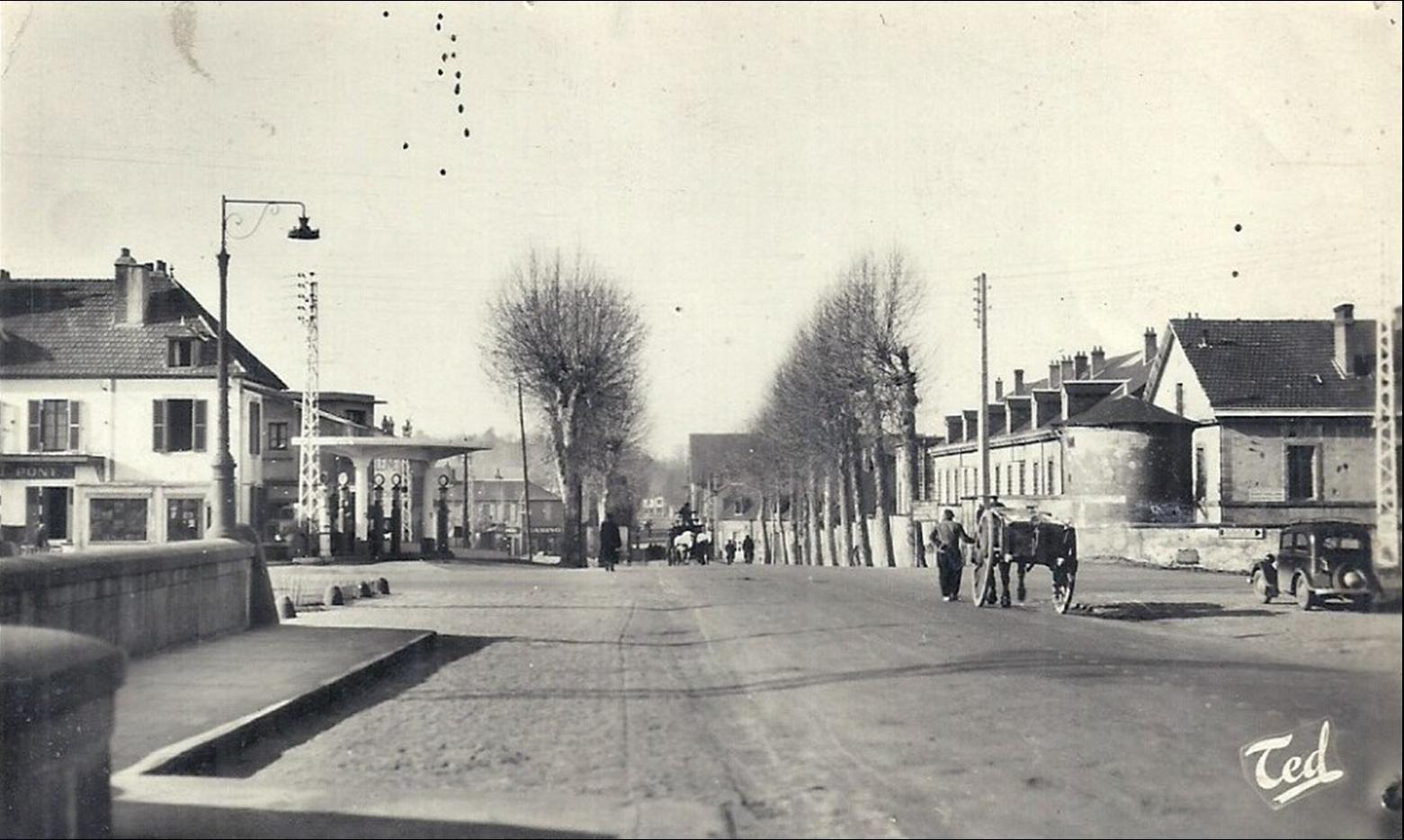 Moulins des années 1950 aux années 70
