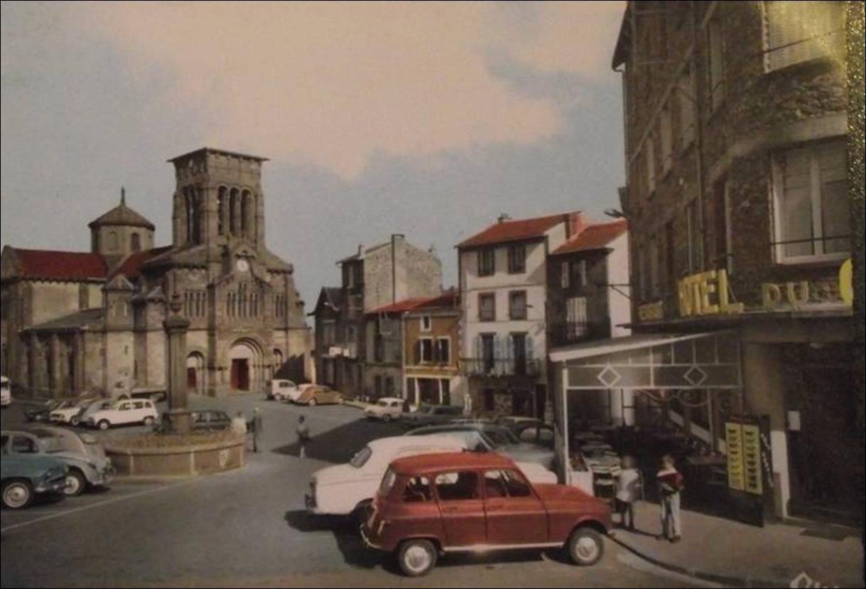 Volvic dans les années 1950-60