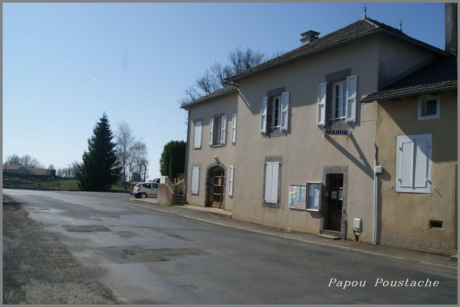 Labrousse dans le Cantal