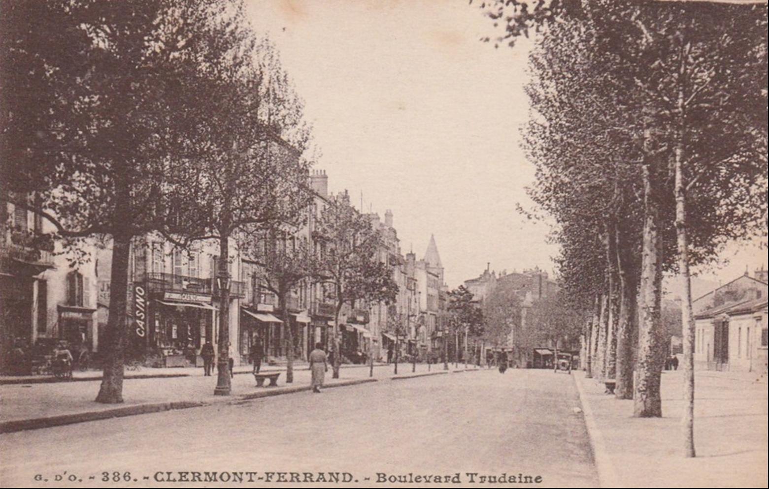 Boulevard Trudaine à Clermont