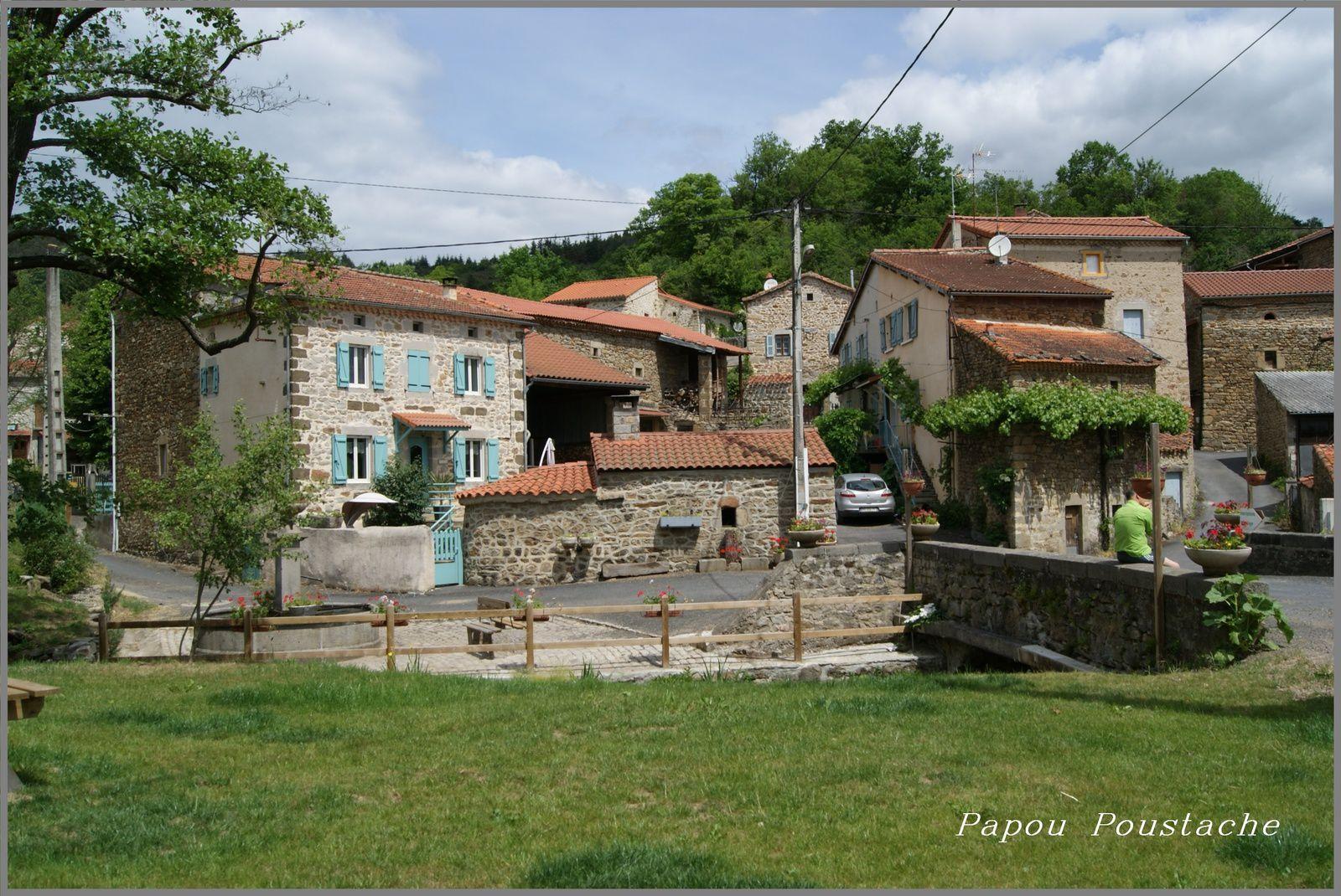 Le hameau de Jahon