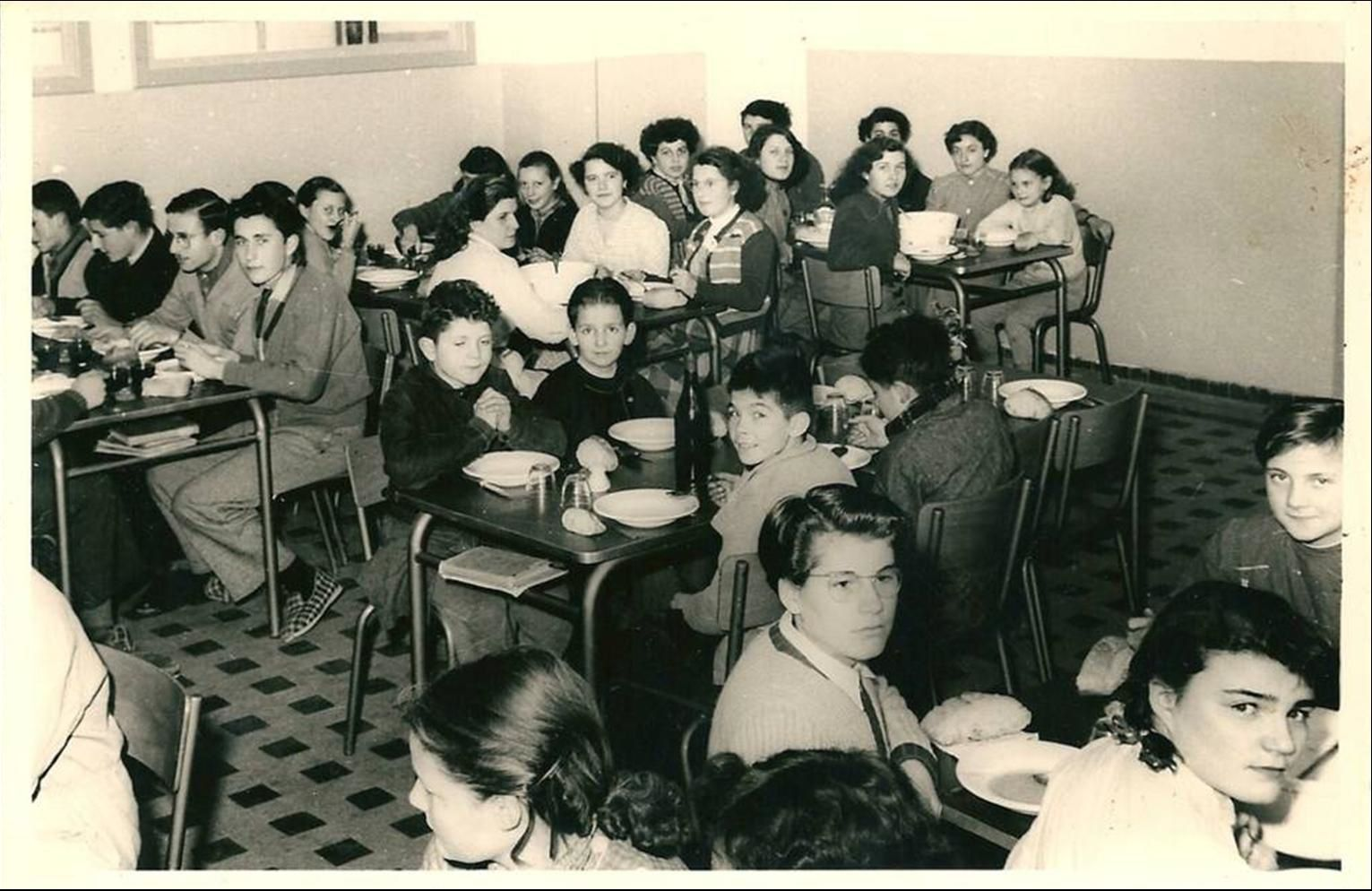Manzat dans les années 1950-60