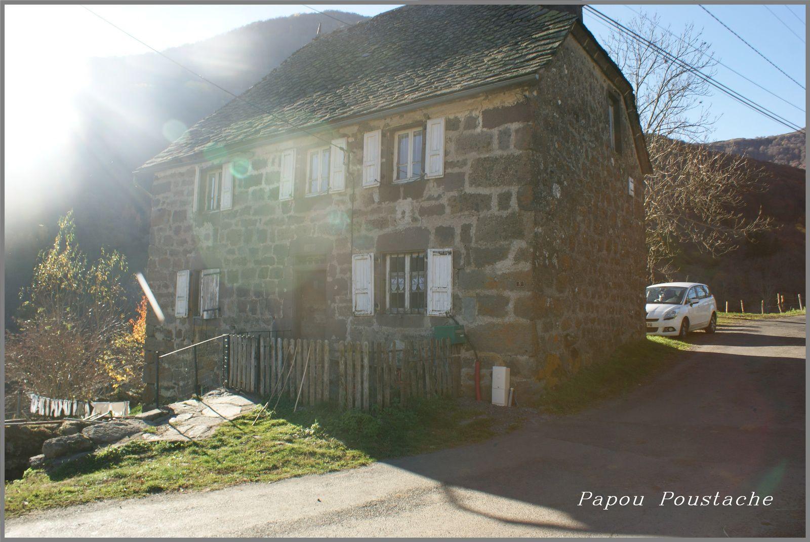 Les environs de Brezons dans le Cantal