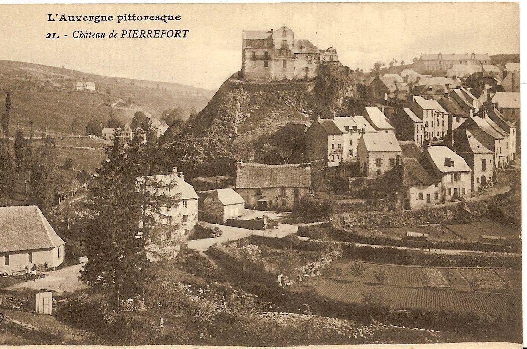 Pierrefort collection à Gérard