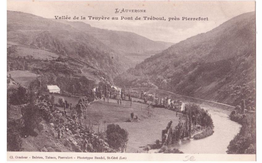 Treboul dans le Cantal