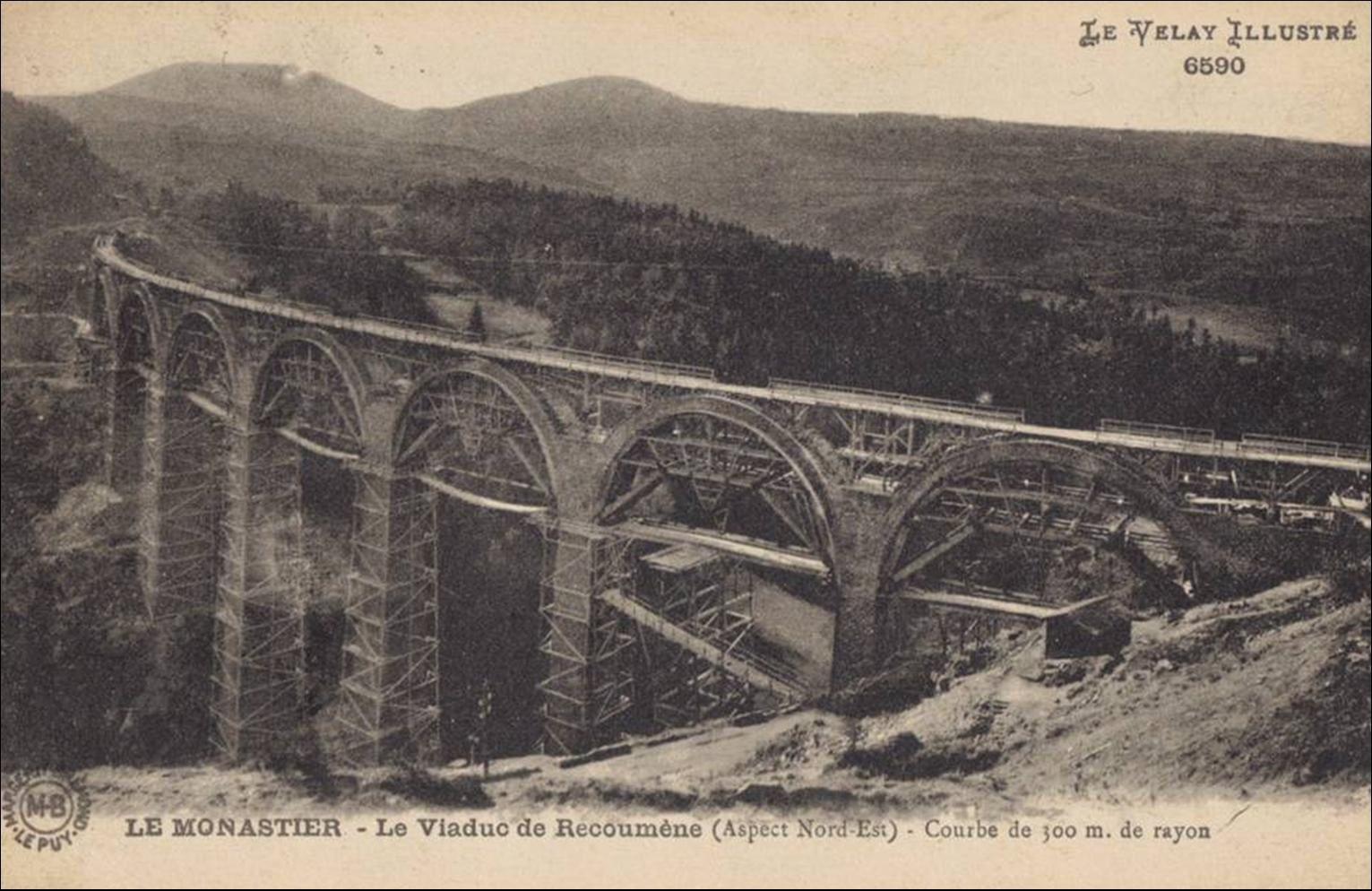 Le viaduc de la Recoumène
