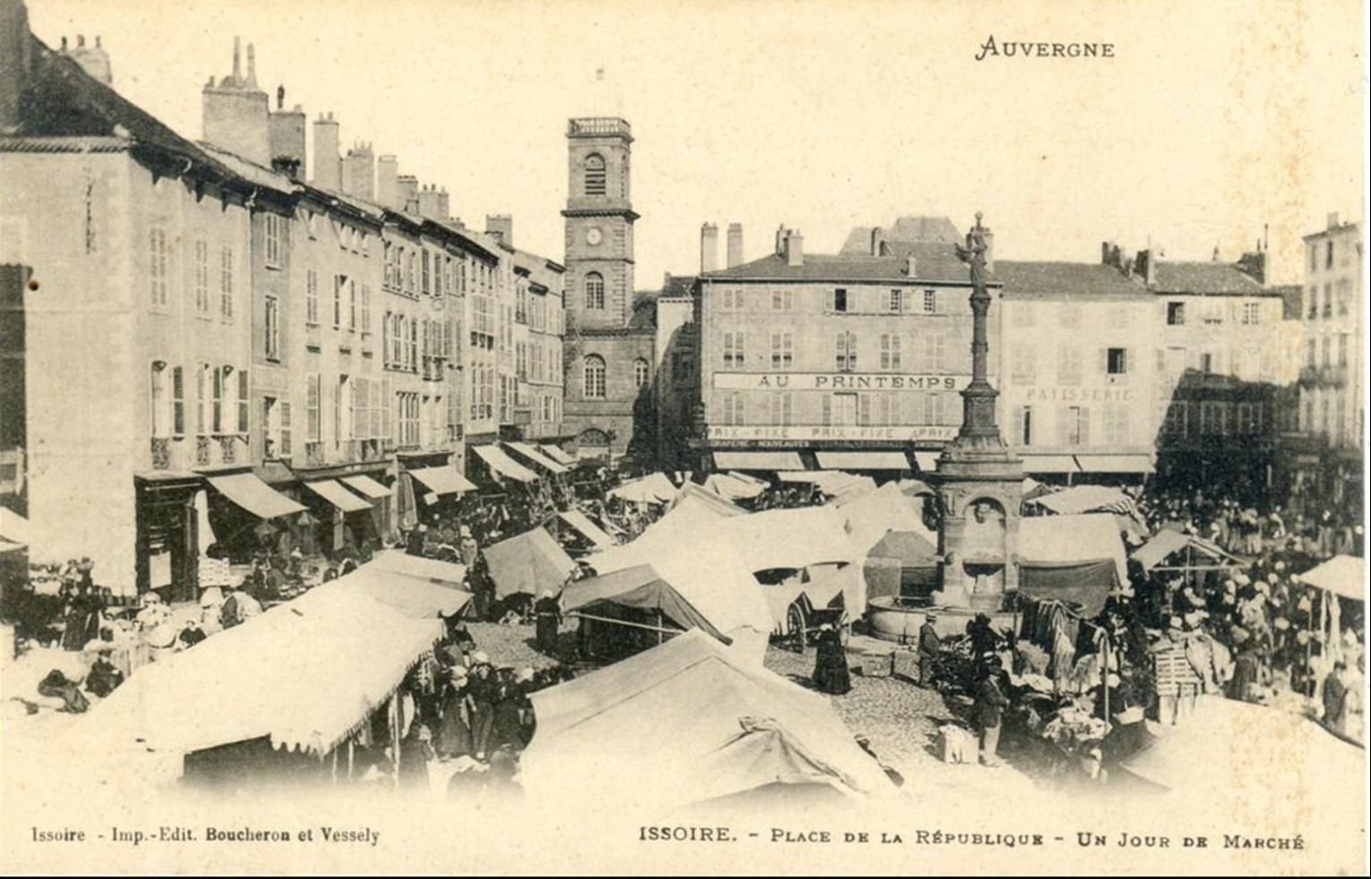 Le Marché à Issoire