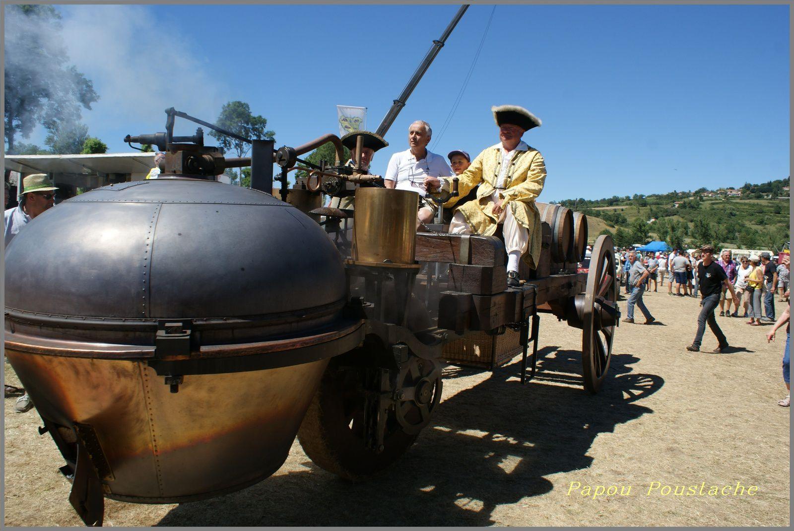 Le Fardier de Cugnot à Saint Vincent Haute Loire