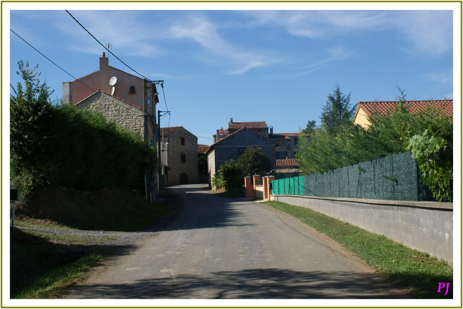 Le village de Beaumont en Haute Loire