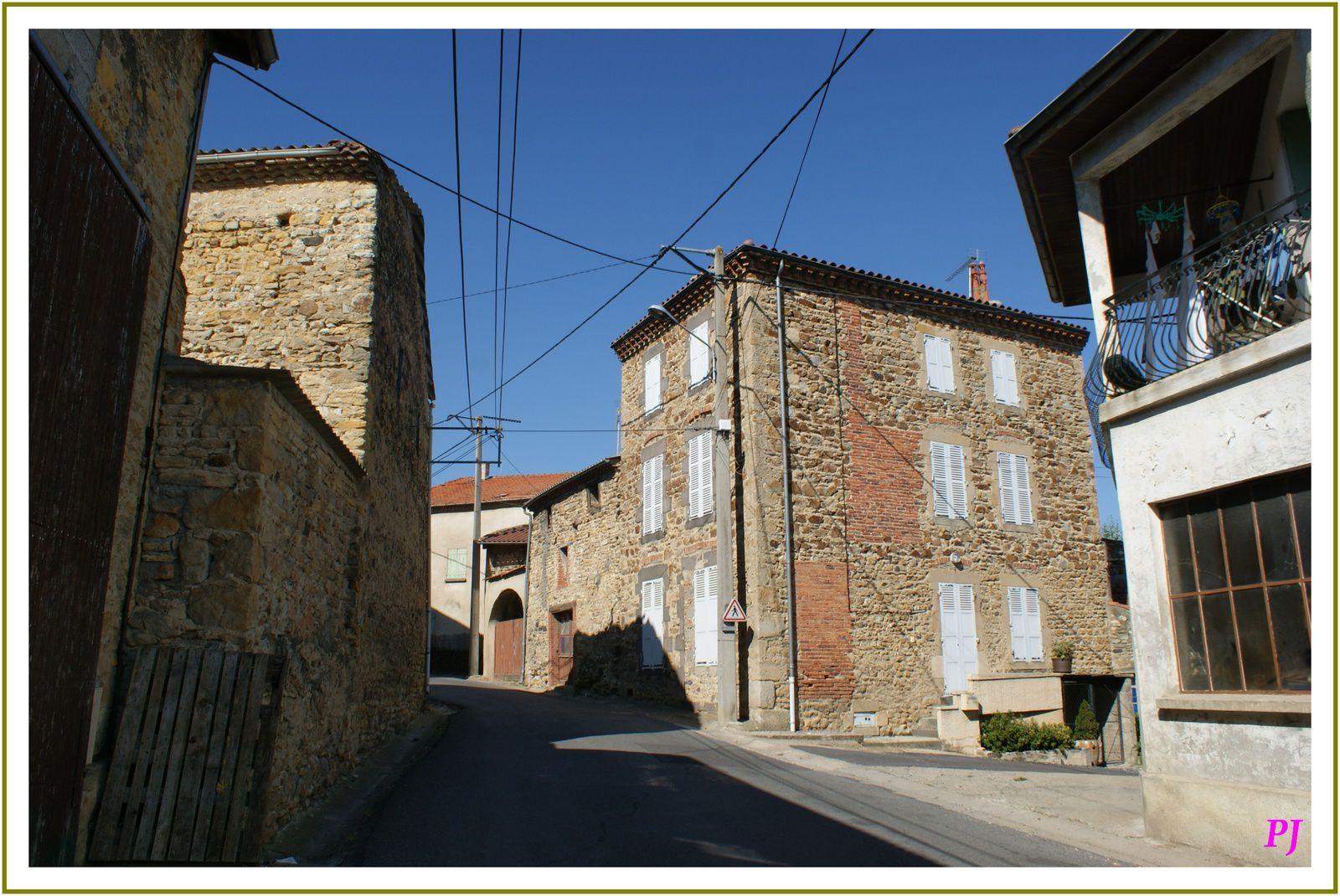 Les villages d'Auvergne : Lamontgie(63)