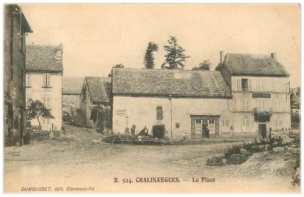 Les villages du Cantal: Chalinargues