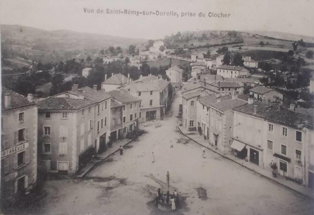 Saint Rémy sur Durolle aux années 50-60