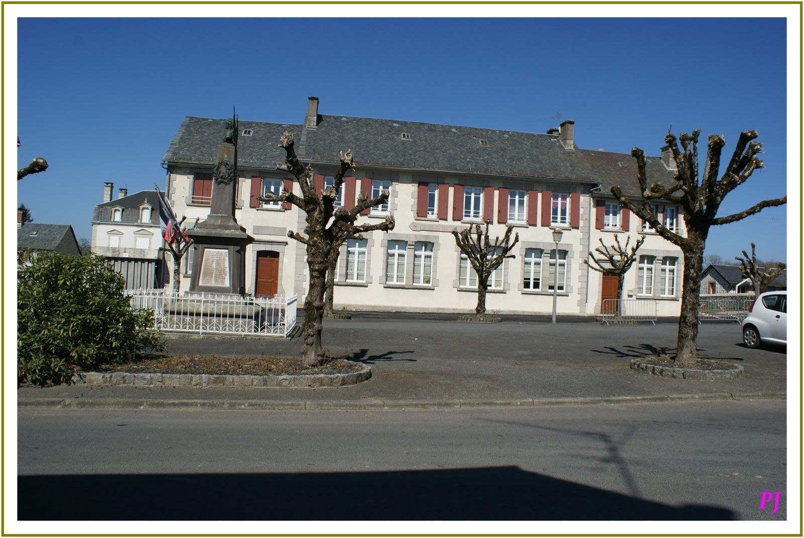 Les villages du Cantal: Champagnac