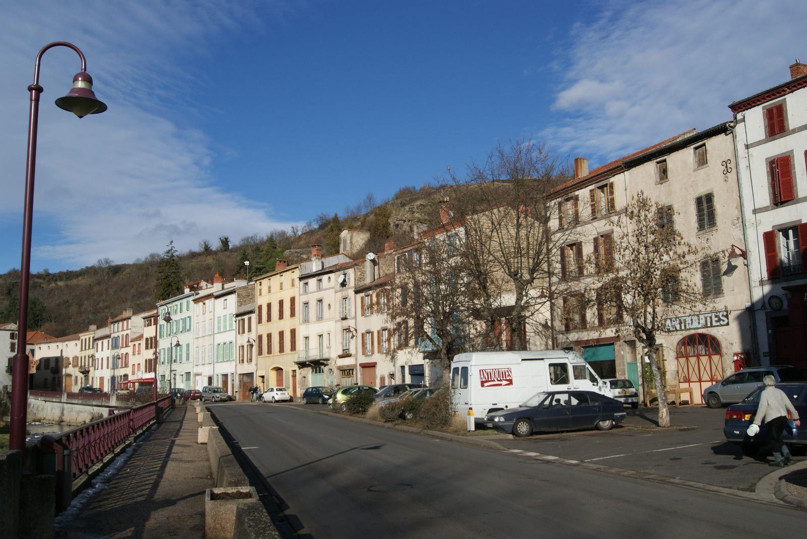 Le village de Champeix