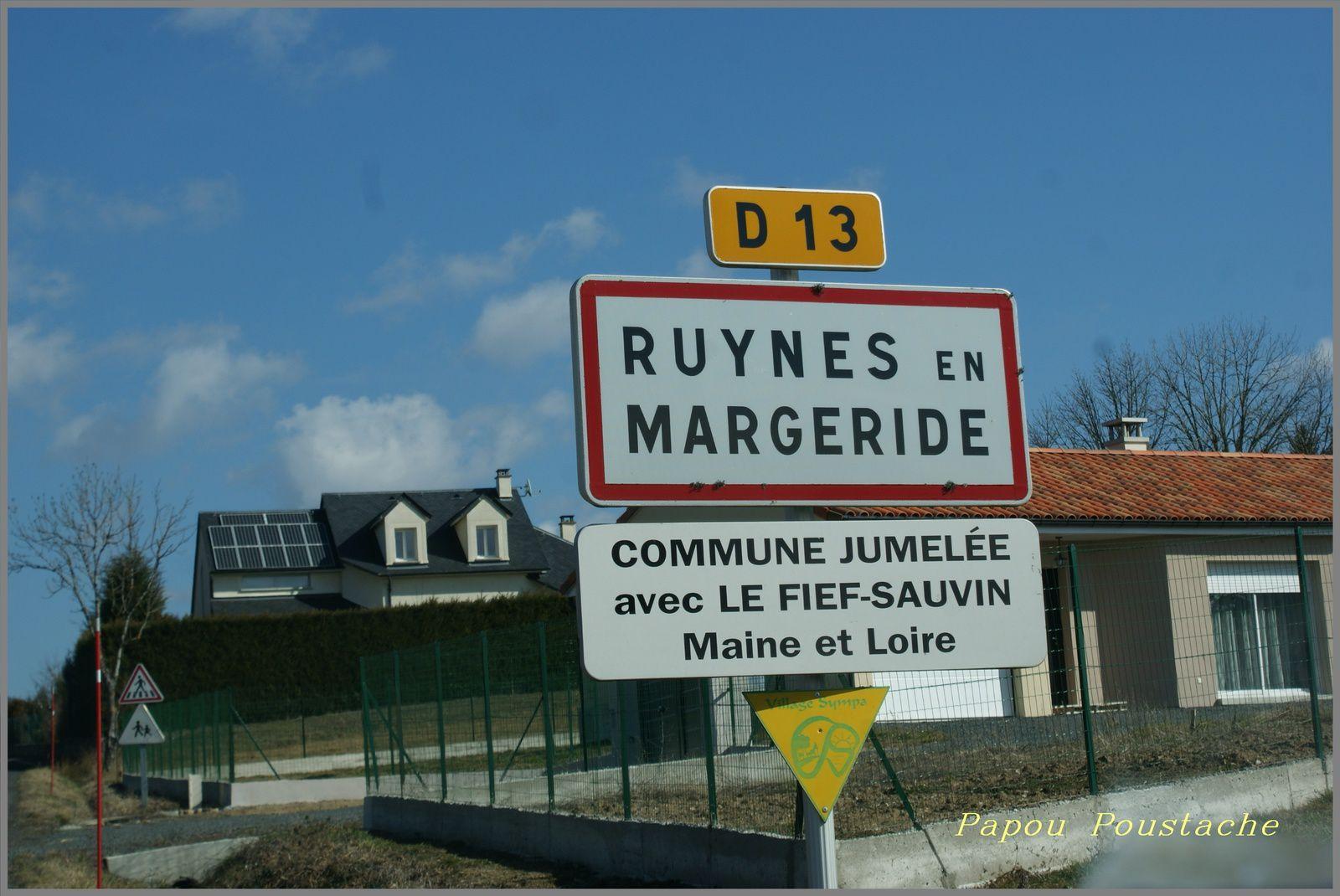 Ruyne en Margeride