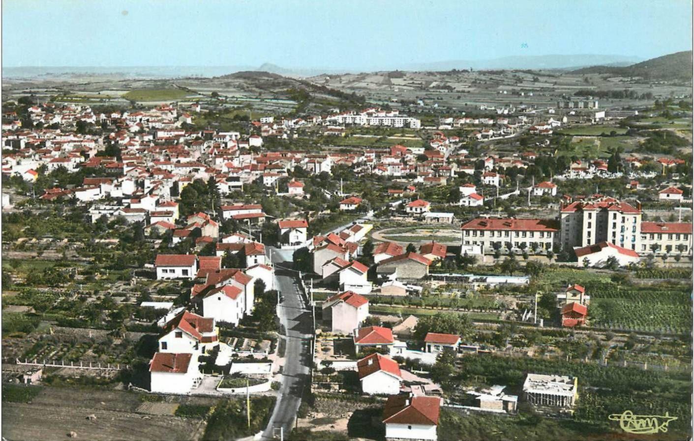 Sainte Florine aux années 50-68