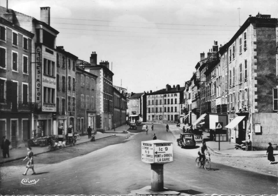 Issoire dans les années 50-60
