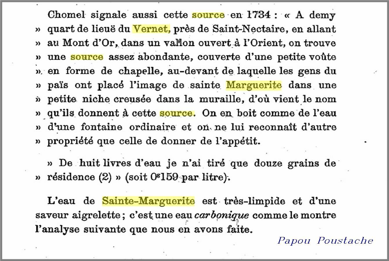 Source Sainte Marguerite