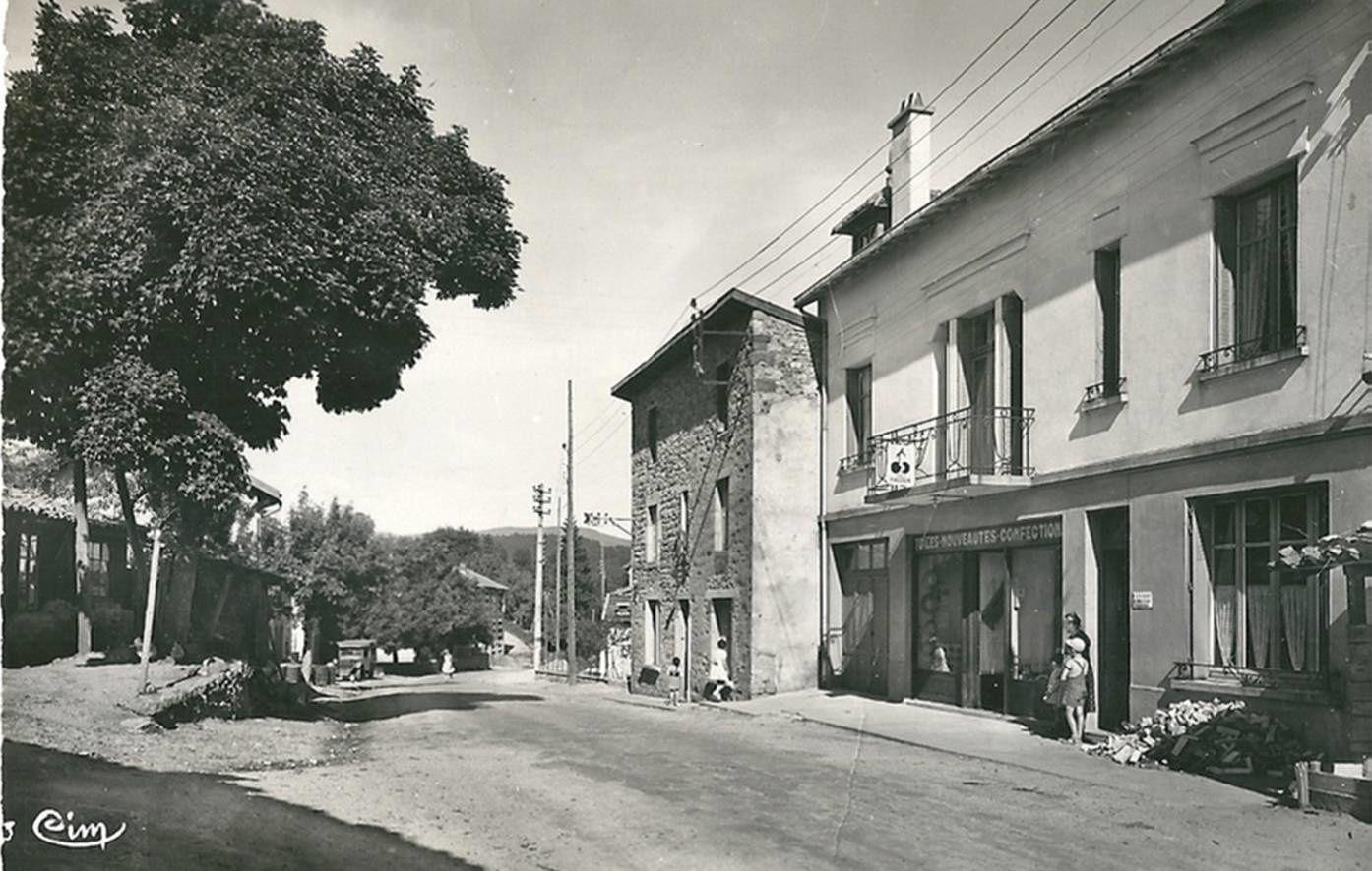 Les années 50-60 à Celles sur Durolle