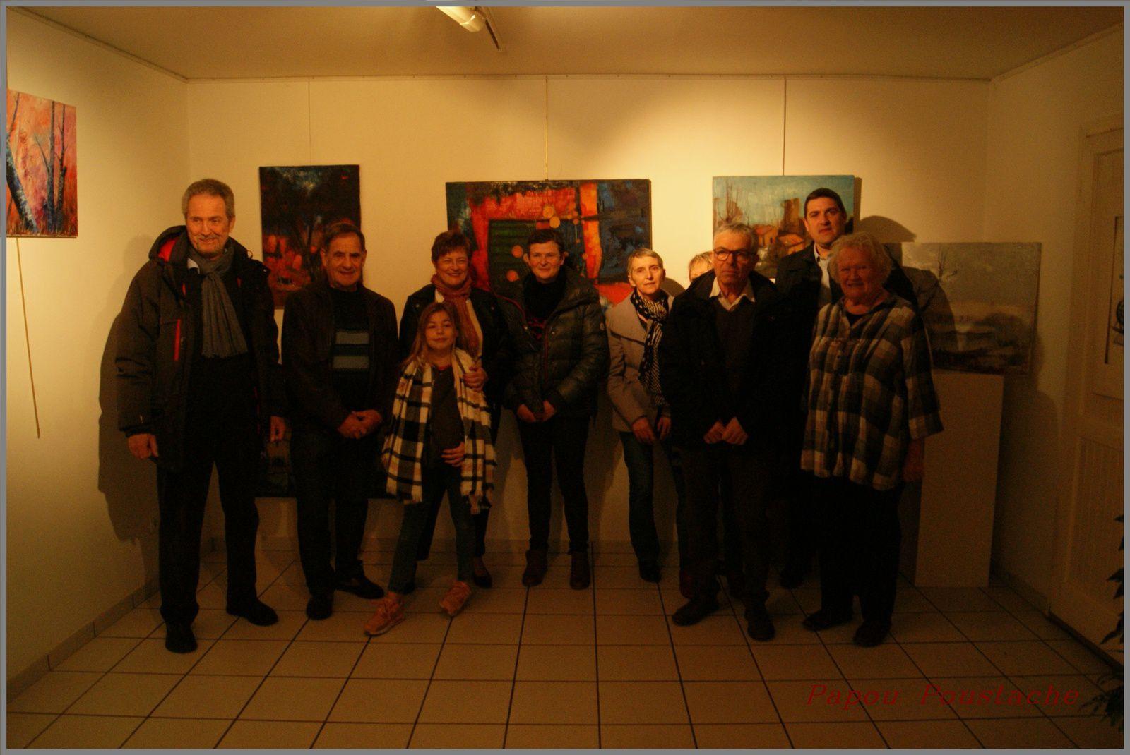 Vernissage  au Musée Peynet