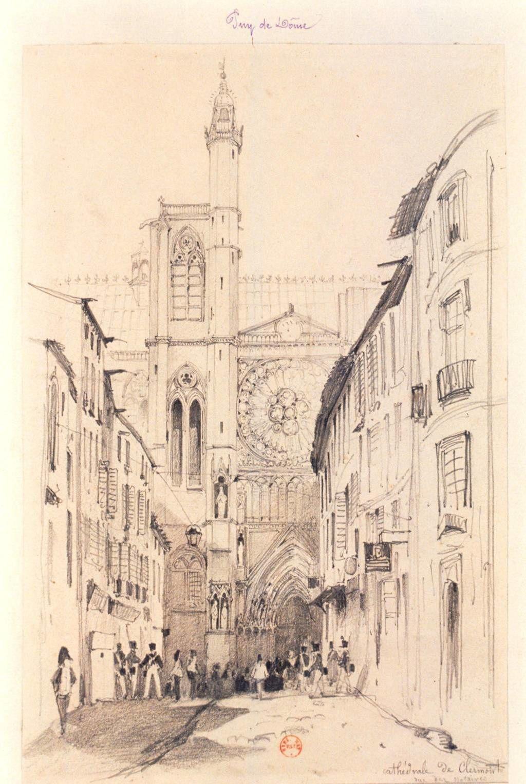 La cathédrale de Clermont Ferrand