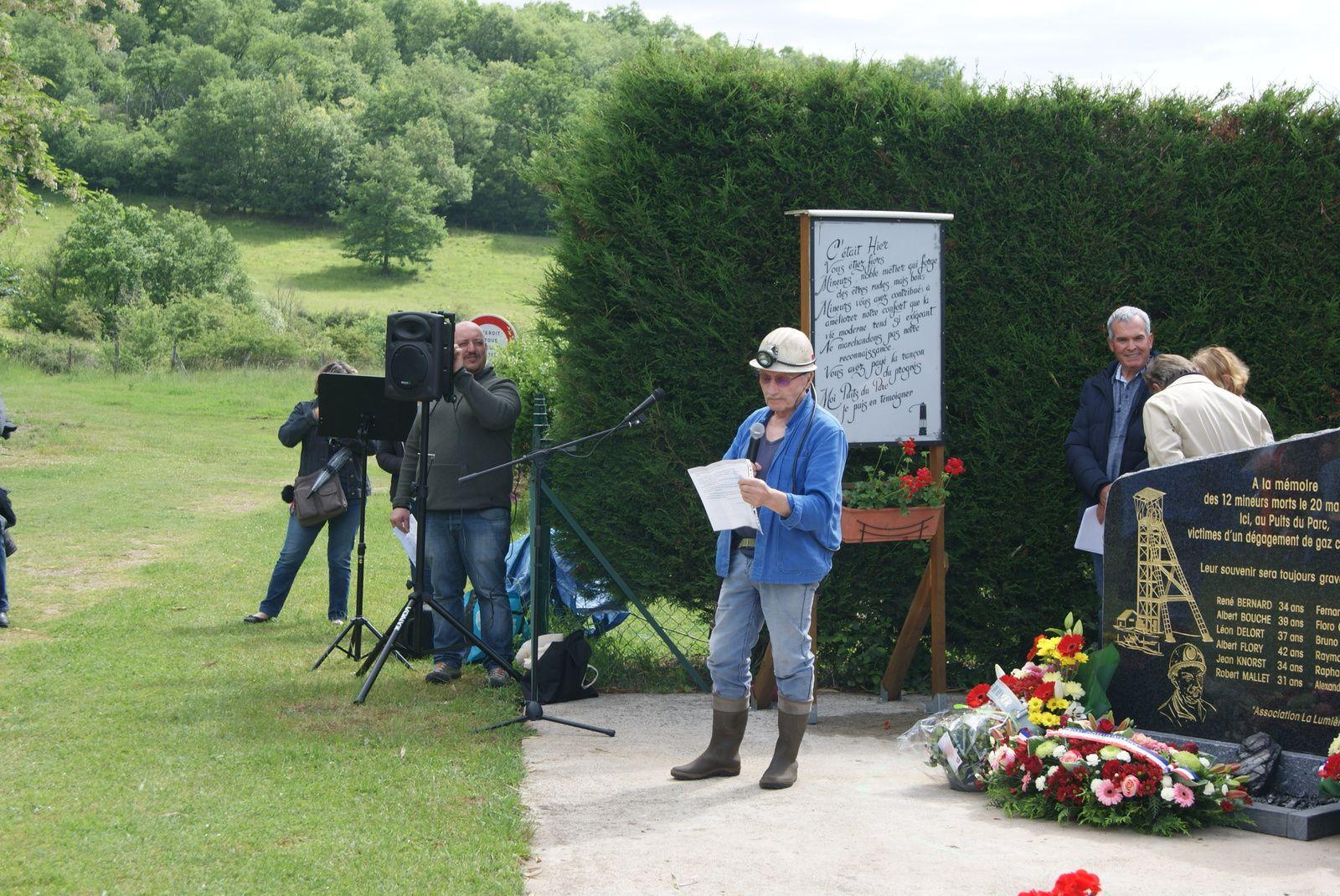 On se souvient le 20 Mai 1952 à Frugères les Mines