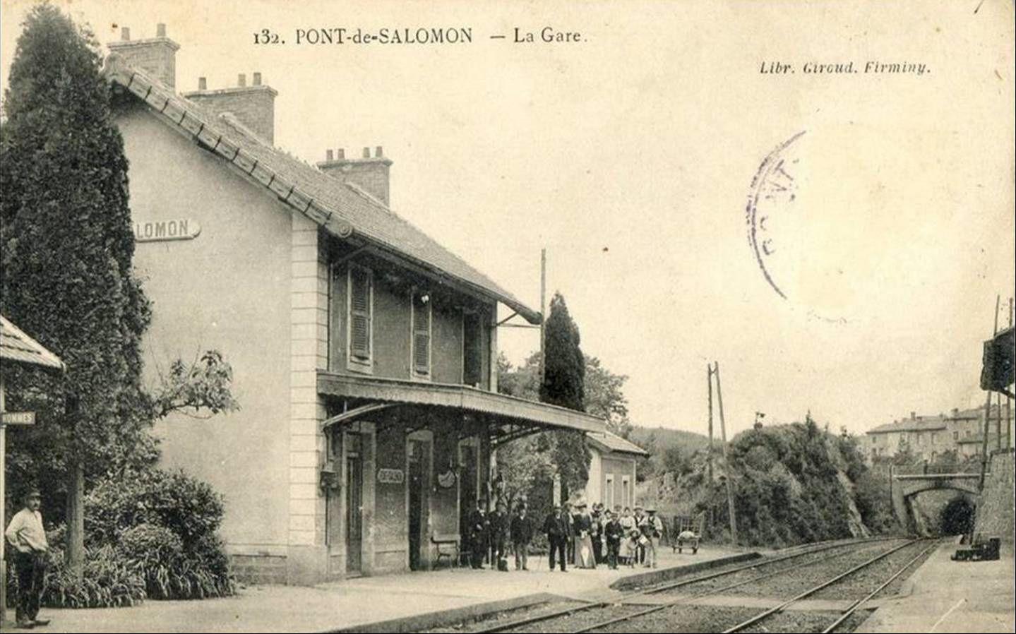 Gare de Pont Salomon