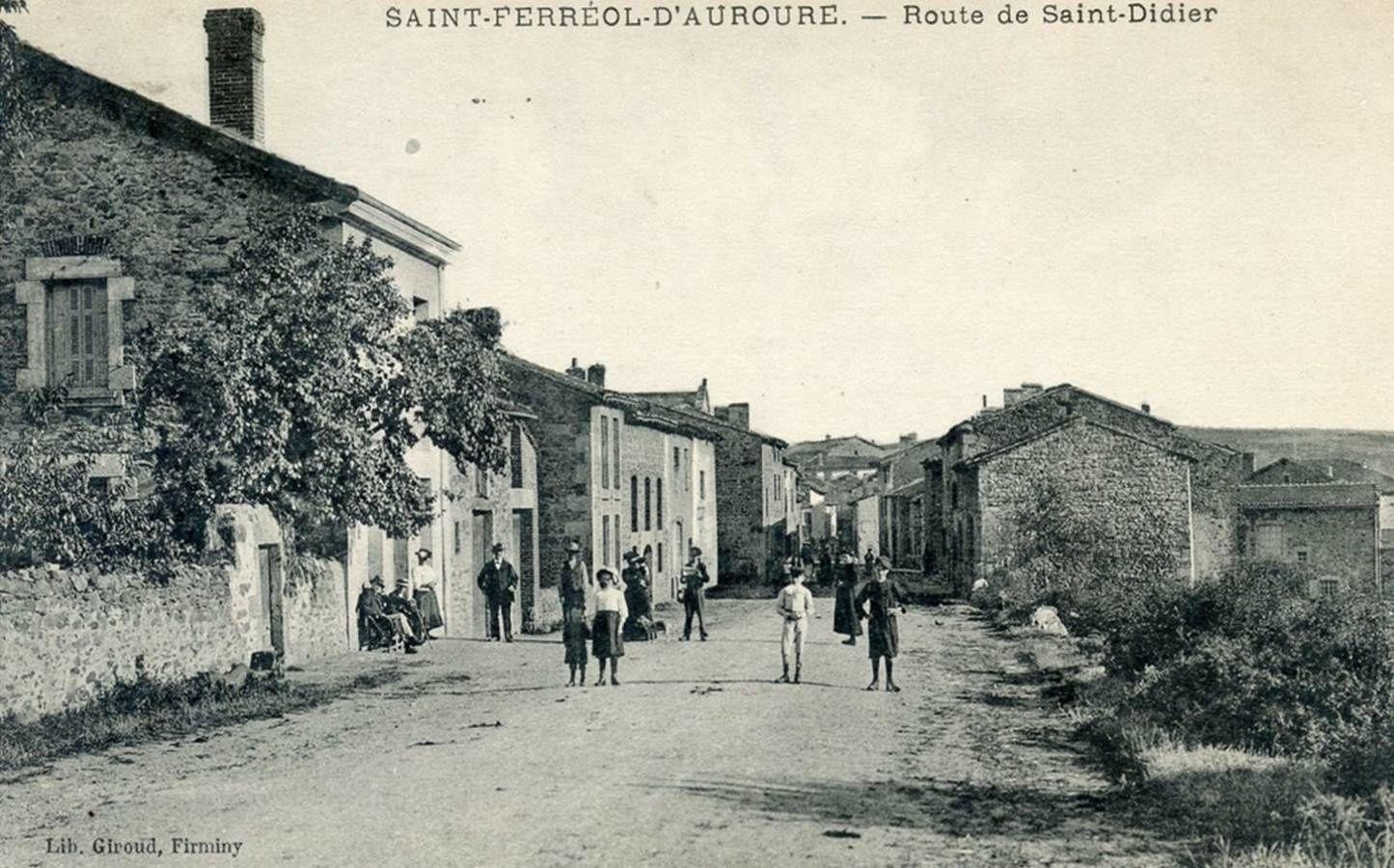 Il était une fois Saint Férréol d'Auroure