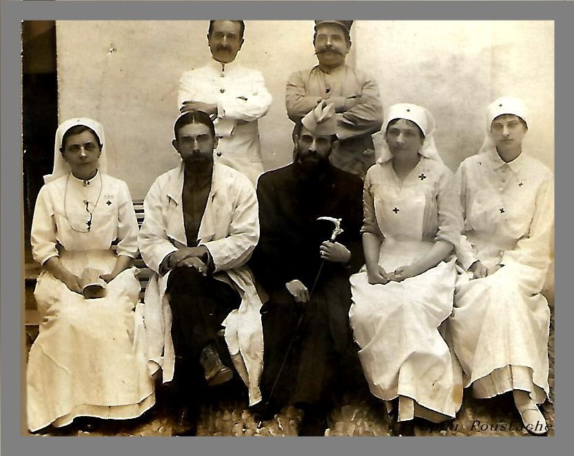 Les infirmières pendant la grande Guerre