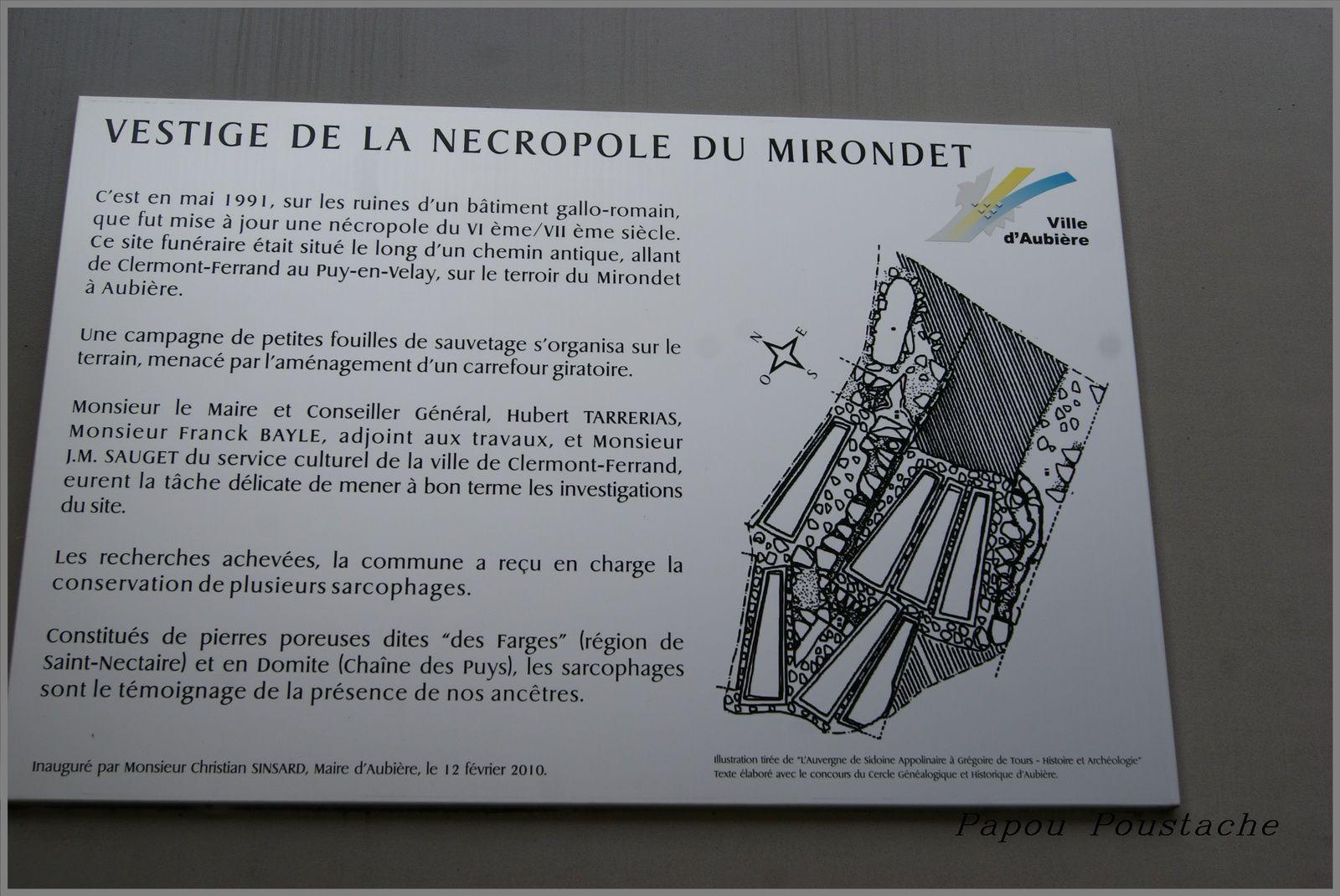 Nécropole du Mirondet